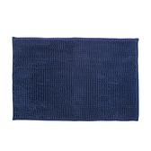 極吸水雪尼爾踏墊40x60cm-藍色