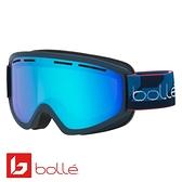 法國 Bolle SCHUSS 雙層鏡片設計 防霧雪鏡 海軍藍/朱紅藍 #21872