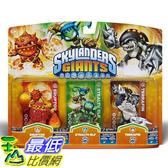 [美國直購] Activision B009716ENU Skylanders Giants Triple Pack #6 (Eruptor, Stealth Elf & Terrafin) 玩偶