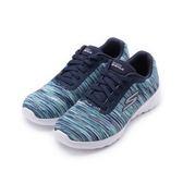 SKECHERS GO WALK JOY 綁帶運動鞋 藍彩 15614NVMT 女鞋