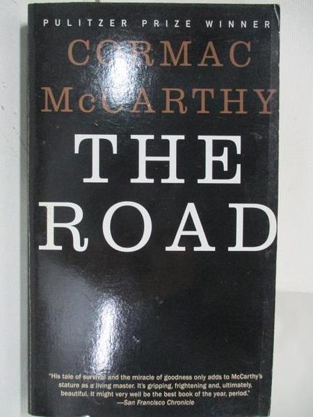 【書寶二手書T1/原文小說_ALP】The Road_Cormac McCarthy