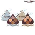 ETUDE x HERSHEY'S KISSES 玩轉色彩四色眼彩盤 (水滴醇情牛奶/水滴杏好有你)【SP嚴選家】