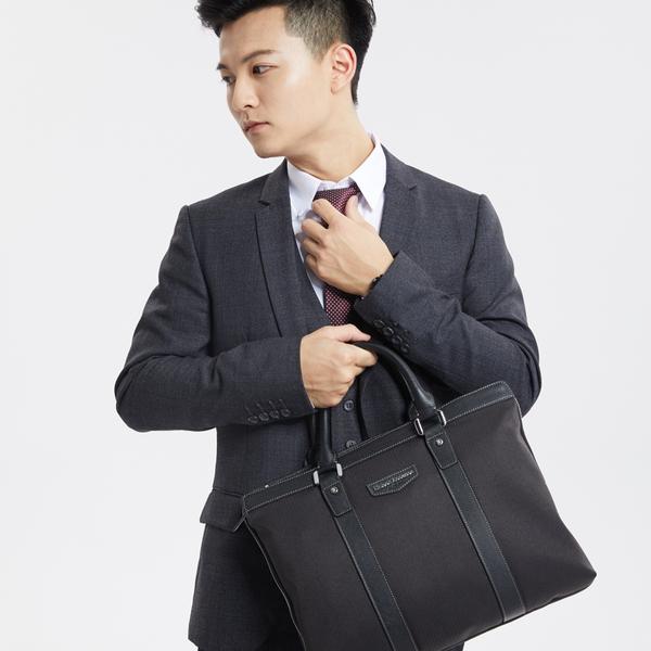 金安德森 都會行者 商務手提/側背公事包 黑色