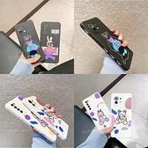側邊趣味彩色塗鴉 小米11 紅米Note9 Note8T Note8 Pro Note7 Note5 紅米7 卡通防摔手機殼
