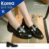 跟鞋.珍珠飾高跟紳士鞋-FM時尚美鞋-韓國精選.young