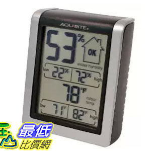 [104美國直購] AcuRite 00613A1 Indoor Humidity Monitor 居家型 溼度計