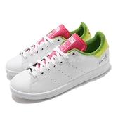 adidas 休閒鞋 Stan Smith 白 綠桃紅 Kermit the Frog 青蛙 男鞋 女鞋 聯名款【ACS】 GZ3098