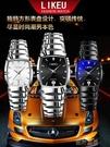 手錶男 鎢鋼色手錶男防水石英方形商務男士手錶學生正韓時尚非機械錶男錶