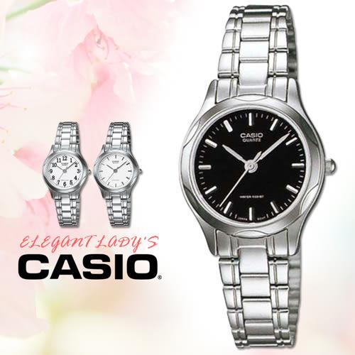 CASIO手錶專賣店 卡西歐  LTP-1275D-1A 女錶 指針錶 三折不銹鋼錶帶 強力防刮礦物玻璃