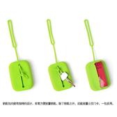 方形矽膠鑰匙包日韓糖果色鑰匙收納包創意公交卡包證件飯卡(快出)