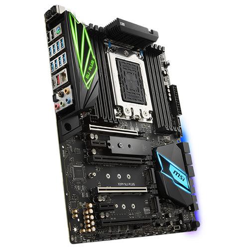 MSI 微星  X399 SLI PLUS TR4腳位 主機板