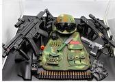 兒童CS套裝電動玩具槍綠色迷彩戰術背心頭盔特種兵裝備cos真人秀 igo  夏洛特居家