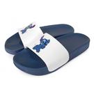 Disney 玩趣俏皮 史迪奇休閒拖鞋-白藍