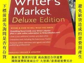 二手書博民逛書店2007罕見Writer s Market Deluxe Edi