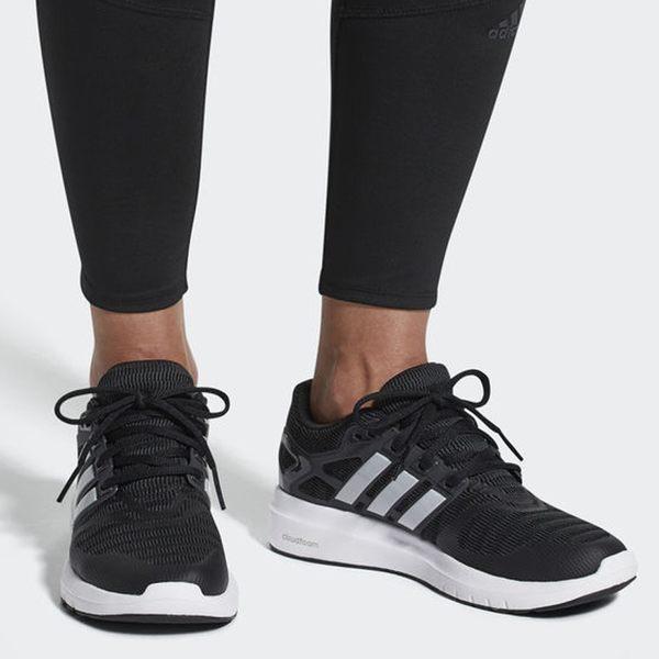 Adidas ENERGY CLOUD V 女鞋 慢跑 休閒 輕量 透氣 柔軟 緩震 黑 【運動世界】 B44846