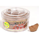 【如意檀香】【上水沉元寶香塔】香塔 盒裝 = 嚴選水沉原料製作 = 濃郁水沉香
