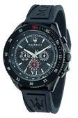【Maserati 瑪莎拉蒂】/三眼橡膠錶(男錶 女錶)/R8851101001/台灣總代理原廠公司貨兩年保固