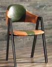 【南洋風休閒傢俱】設計單椅-美式鐵藝餐椅...