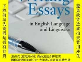 二手書博民逛書店Writing罕見Essays In English Language And LinguisticsY255