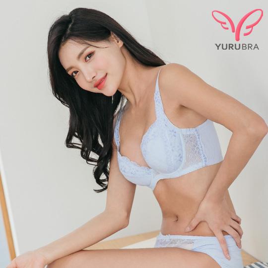 【Yurubra】花見小路內衣。不易簍空 貼合 托高 機能 集中 台灣製 B.C.D罩。※0591灰