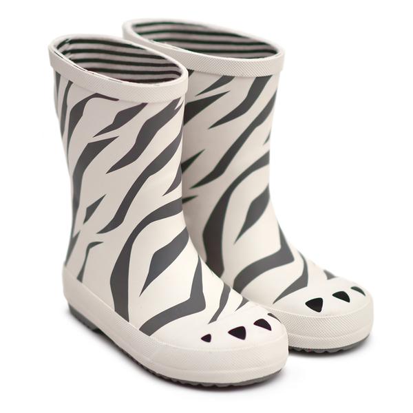法國BOXBO 兒童雨鞋 / 雨靴-愛時尚系列(斑馬)  時尚兒童雨鞋 / 防水雨靴 / 防滑橡膠雨鞋
