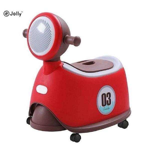 英國 Jolly 時尚機車座便器馬桶-紅色