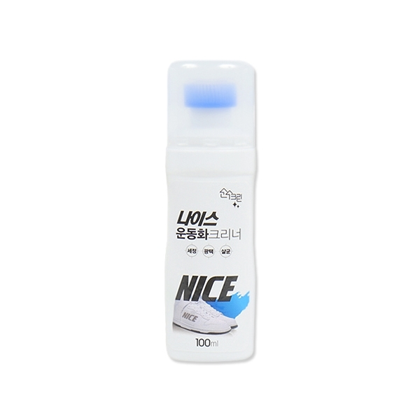 韓國 小白鞋亮白刷鞋劑(100ml) 顏色隨機出貨【小三美日】