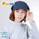 UV100 防曬 抗UV 防風保暖遮耳摺疊帽-中性
