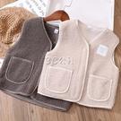 女童馬甲秋季外穿洋氣韓版3歲潮羊羔絨小童坎肩寶寶背心外套5 雙十一全館免運