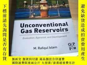 二手書博民逛書店Unconventional罕見Gas ReservoirsY2