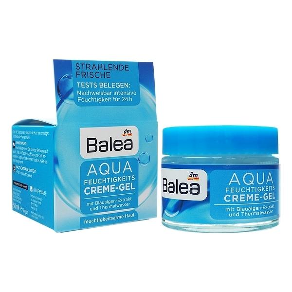 德國 Balea AQUA藍藻保濕凝膠日霜(50ml)【小三美日】