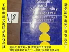 二手書博民逛書店Reliability罕見and managementY13255