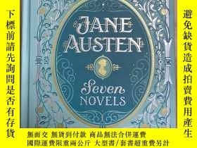 二手書博民逛書店Jane罕見Austen seven novels 金邊珍藏版Y