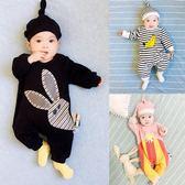嬰兒連體衣服男寶寶0歲3個月1春秋12春裝6新生兒外出哈衣套裝 父親節禮物