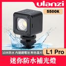 【公司貨】L1 PRO 現貨 迷你防水LED燈 Ulanzi LED 潛水 攝影 補光燈 持續燈 直播 手機配件 屮X5