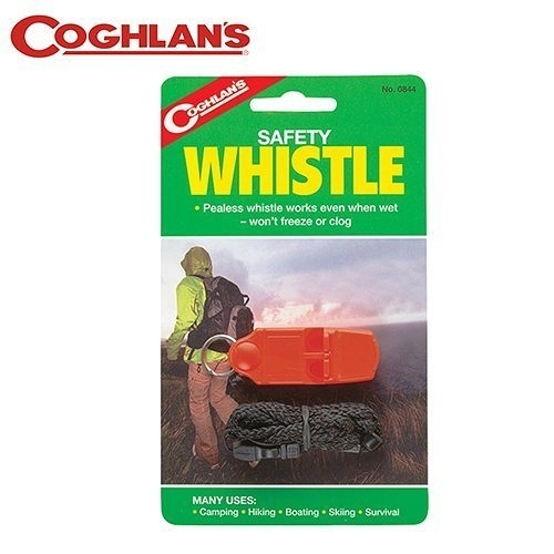 丹大戶外【Coghlans】加拿大 SAFETY WHISTLE 緊急安全哨 0844 哨子│口哨│吹哨│緊急哨
