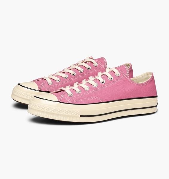 CONVERSE-70 粉色帆布鞋-NO.164952C