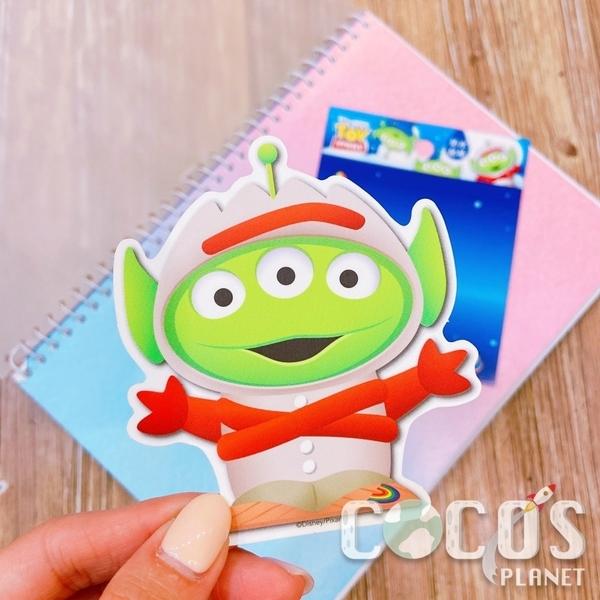 迪士尼 玩具總動員 三眼怪變裝 叉奇 造型防水貼紙 壁貼 行李箱貼 筆電貼 機車貼 貼紙 COCOS TM031