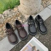 娃娃鞋女可愛大頭娃娃鞋秋季新款日系圓頭小皮鞋女復古韓版百搭單 交換禮物
