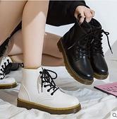 2021年秋冬季新款馬丁靴女短靴英倫風百搭女鞋雪地靴 童趣屋  新品