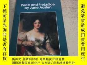 二手書博民逛書店Pride罕見and preiudice by jane Aus