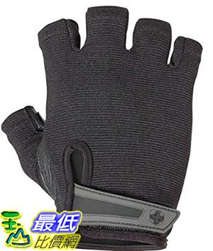 [美國直購] Harbinger Men s Power Weightlifting Gloves with StretchBack Mesh and Leather Palm (Pair)_TA2