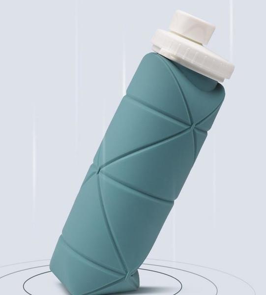 折疊杯 便攜食品級硅膠折疊水杯出差旅行戶外運動大容量伸縮兒童壓縮杯子