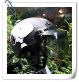 林森~雪帽,史奴比安全帽,K825,#3/消光黑,附抗UV-PC安全鏡片