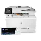 【搭206A原廠碳粉匣一黑 登錄送好禮】HP Color LaserJet Pro MFP M283fdw 無線雙面觸控彩色雷射傳真複合機