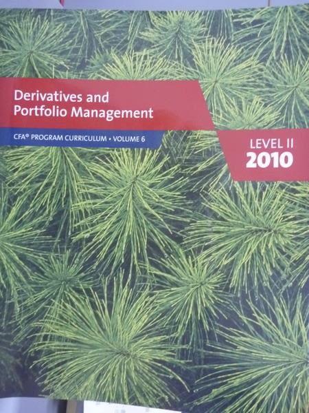 【書寶二手書T4/大學商學_PFU】Derivatives and Portfolio Management-2010