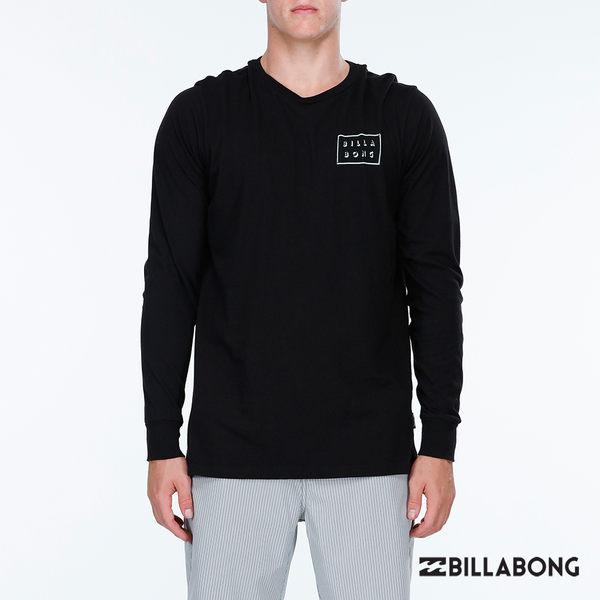 BILLABONG 男 DIECUT SHADOW 長袖T恤-黑 【GO WILD】