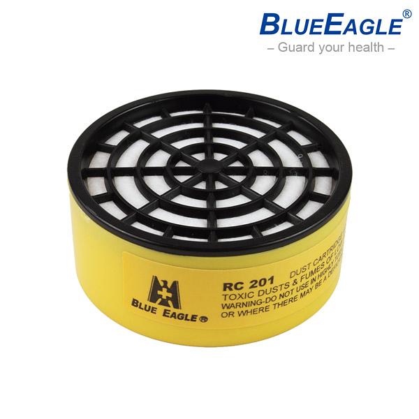 【醫碩科技】藍鷹牌 RC-201澳規濾塵罐 過濾微小顆粒粉塵 適用NP-305、NP-306防毒口罩