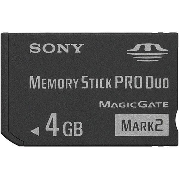 SONY Memory Stick PRO Duo™ Mark2 記憶卡 4G記憶卡 MS-MT4G  PSP PSP3007適用