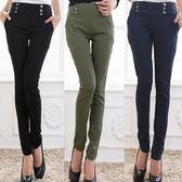 中大尺碼~高彈顯瘦鉛筆褲(XL)